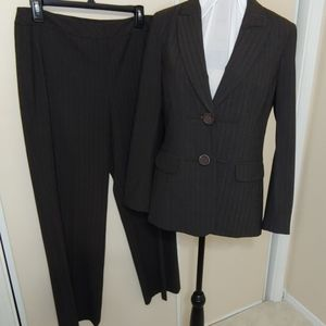 Peace of Cloth Brown Pinstripe Suit 8